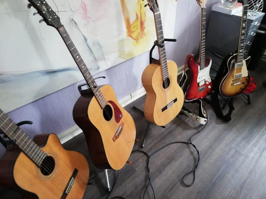 einige meiner Gitarren